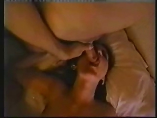 Amateur Threesome (short clip..facial)
