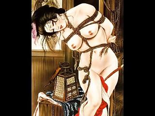 eastern  rope bdsm artworks