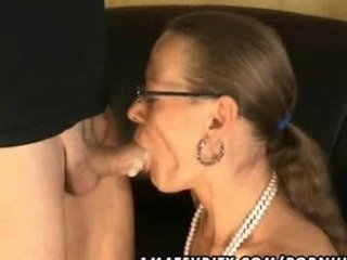young handjob footjob and fellatio with facial