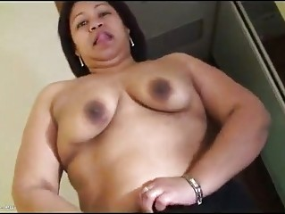 older  pushing dildo