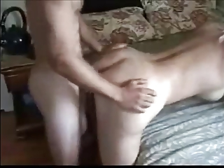 wonderful bleached mature babe teasing butt with