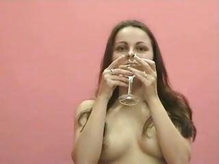 vera gulps her obtain piss