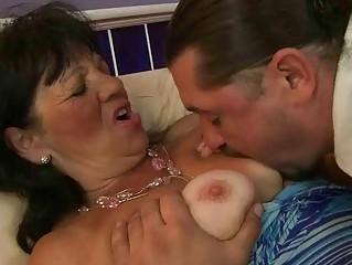 elderly pleasing difficult piercing