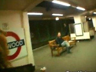 openair flashing at the london underground