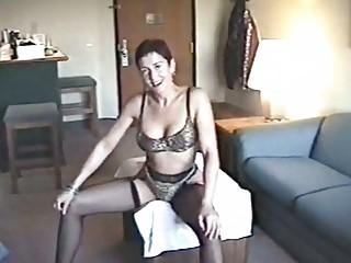 desperate woman hoe posing into gorgeous panties