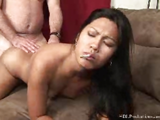 kyanna lee  - smoking like at dragginladies
