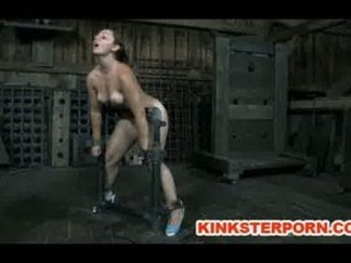 bdsm slave sasha chained whipped and bottom