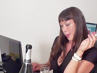 sexy computer smoke