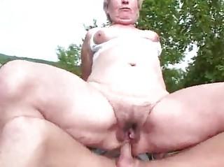 elderly ass