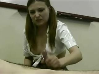 stunning handjob cum compilation
