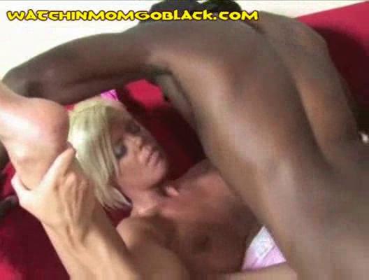 black rods filling lady