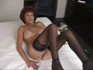 desperate grandma licks and bangs