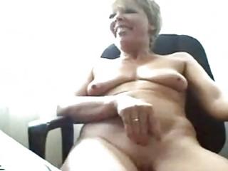 naughty elderly on webcam