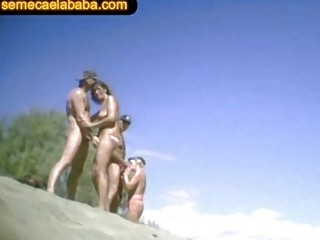 swinger nudity seaside