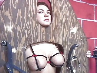 slave gagged and kitty whipped
