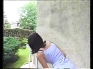 p0 hot amateur pooping and peeing openair