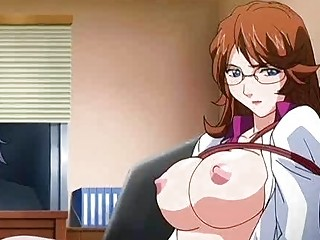 anime medic obtaining facial and getting a dick