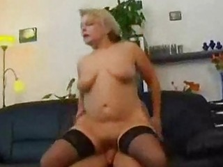 milf and son masturbating with food
