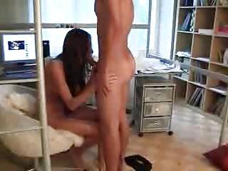 university amateur pierced on her dorm