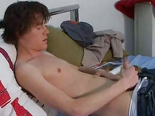 pretty brunette gay ash going naked taut