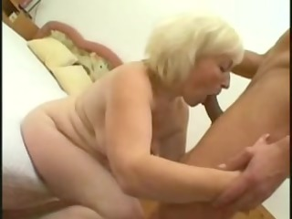 grannies fuck with youthful fellow
