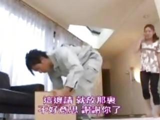 slutty housewife gangbanged by deliveryman