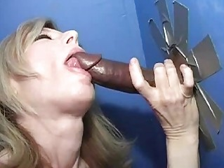 kate hartley at a gloryhole