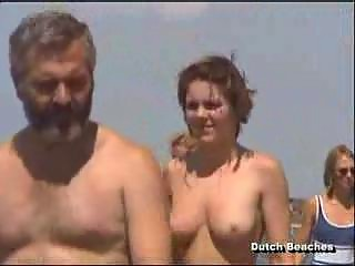 zandvoort dutch sea coast topless nudist boobies