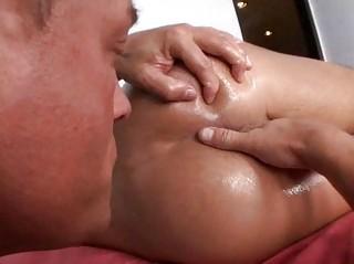 huge penis massage