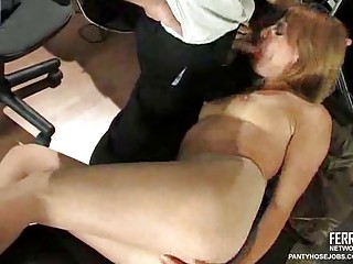 stockings obsess porn inside the agency