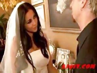 audrey bitoni brunette bride