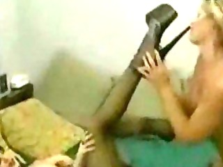 dike femdom legs worship