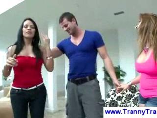 woman brings chap a tranny