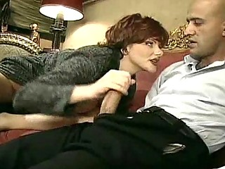granny perverted girl lures a more amateur guy in
