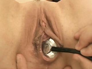 porn clinic fur pie check up