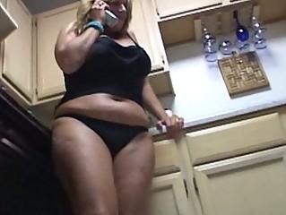 fat pale acquiring dildoed