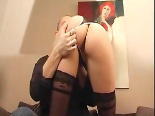sweet french model tries arse !