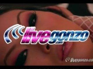 livegonzo - asa akira live ass porn parade