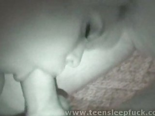 sleeping teenage kitty pierce