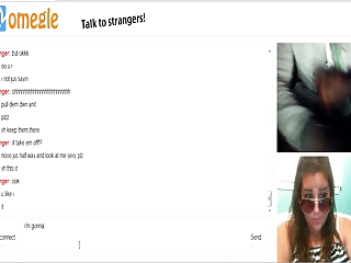 omegle 37 (sexy glasses cumshot)