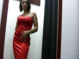 isabela charming horny brunette babe undressing