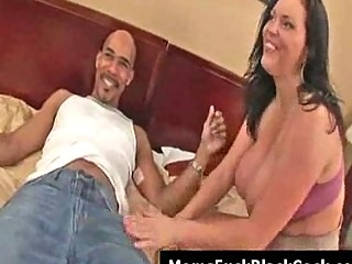 huge chest woman angelica acquires facial from