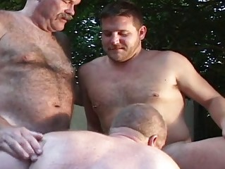 triple senior fuckers have had awesome gay group