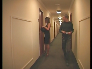 french duo  inside a hotel
