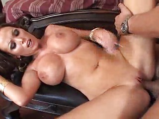 large breasted woman chicls inside high shoes own