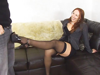 ginger pantyhose legs baroness inside deed