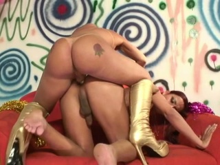 super shemale libido licking and butt gangbanging