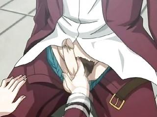 hentai anime classmates three people inside high