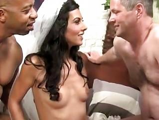 horny cuckold bride adores mixed