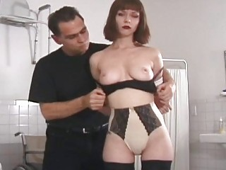 her awesome breast punish to brown